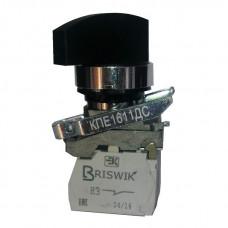 КПЕ 4120 -ДС черный 2но+0нз Длин ручка 3-поз IP40