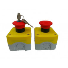 ПКУ21ПА-111-65 К01 УХЛ2 КМЕ5601К кр, без сальников (XALK188.BR) пост кнопочный
