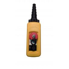 ПКТ-20Б-CК(XACA2713.SК.BR) (2 кнопки1НО+гриб с фиксацией и ключом1НЗ) пульт