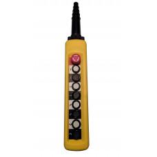 ПКТ-80Б-C(XACA8713.S.BR) (8 кнопок1НО+гриб с фиксацией1НЗ) пульт