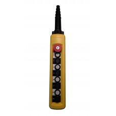 ПКТ-80-1Б-CК (XACA8713.SК.BR) 8 элементов управления, 1НО+1НО+1НО+1НО+1НО+1НО+1НО+1НО+1НЗ (аварийный стоп с ключом)