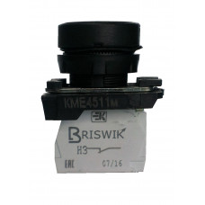 КМЕ 4522м черный 2но+2нз Цилиндр IP54