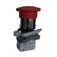 КМЕ 5601м -ФС красный 0но+1нз Гриб с фикс IP65